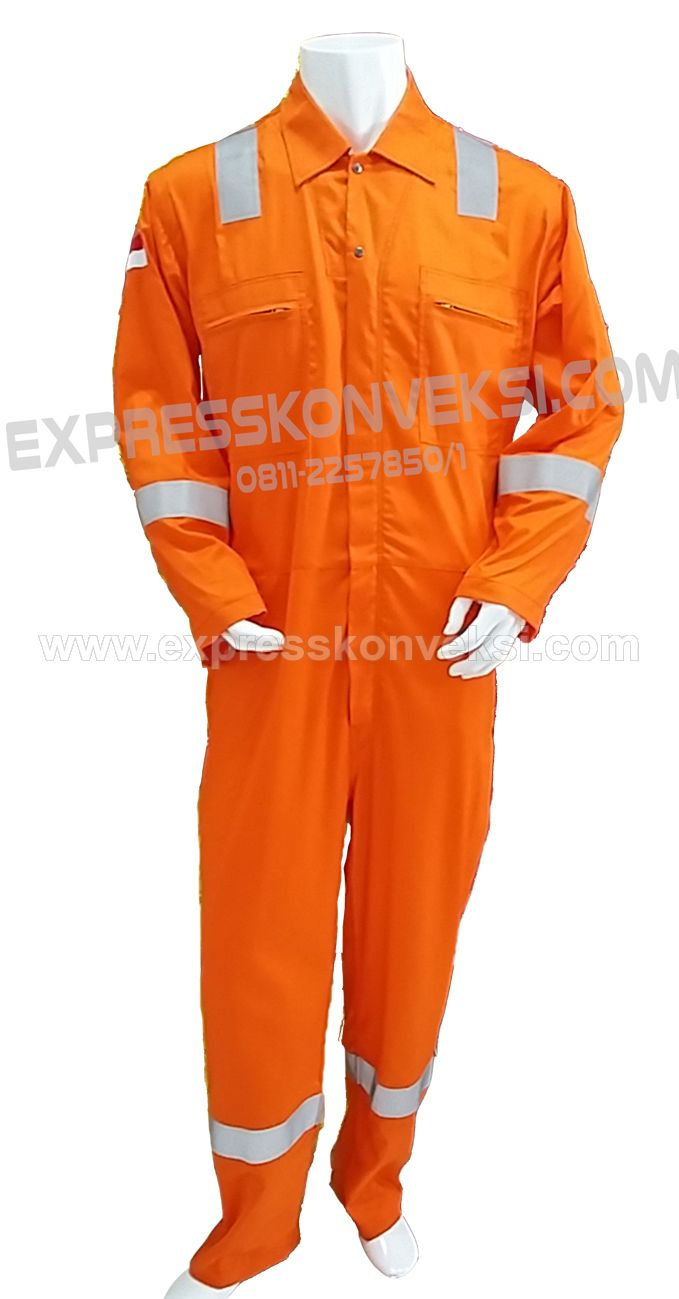 Coverall Flame Retardant Anti Api