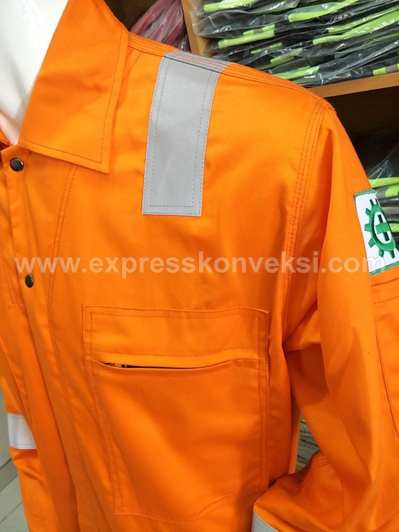 Wearpack Anti Api/Bara (Flame Retardant Coverall) 1